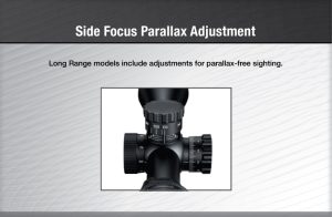 Nikon SF Side Focus on M 223 Rifle Scope