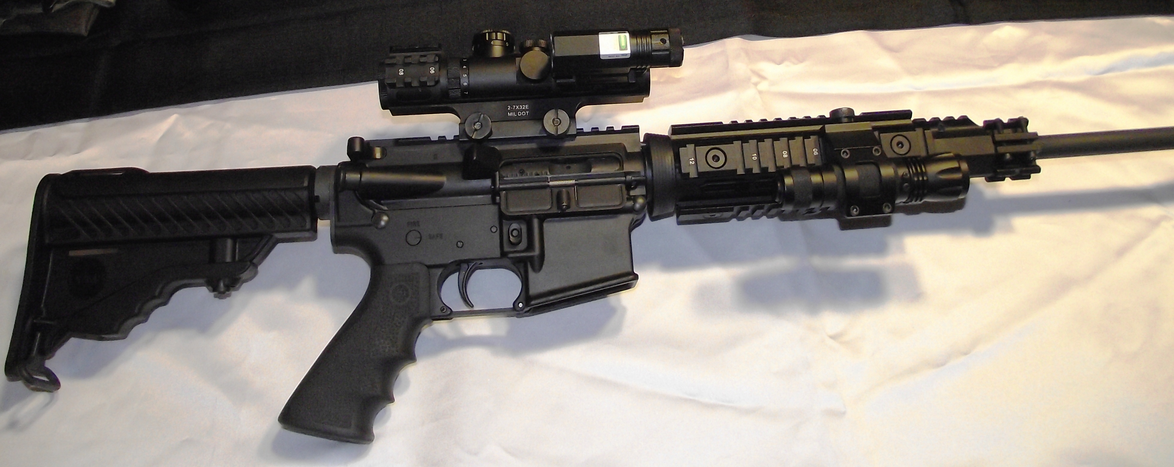 ar15 evolution tactical flashlight gun gear usa 87846